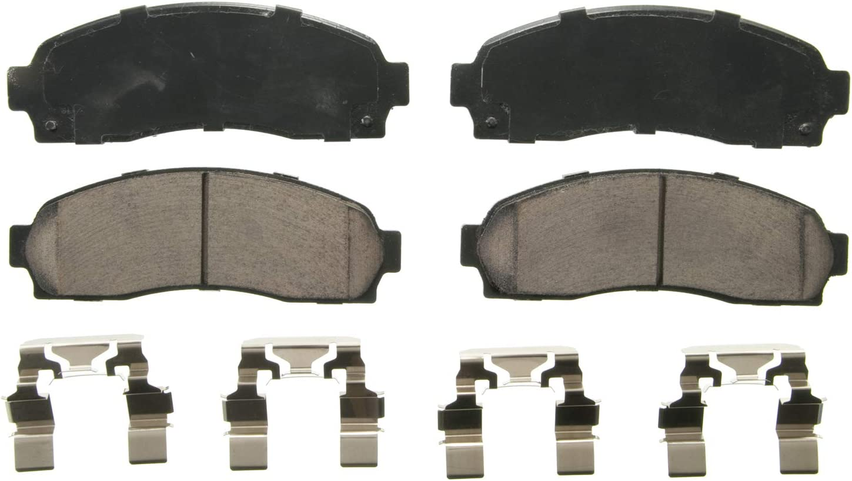 Disc Brake Pad Set-Taff Premium Ceramic Brake Pad Rear Set PSD1281C