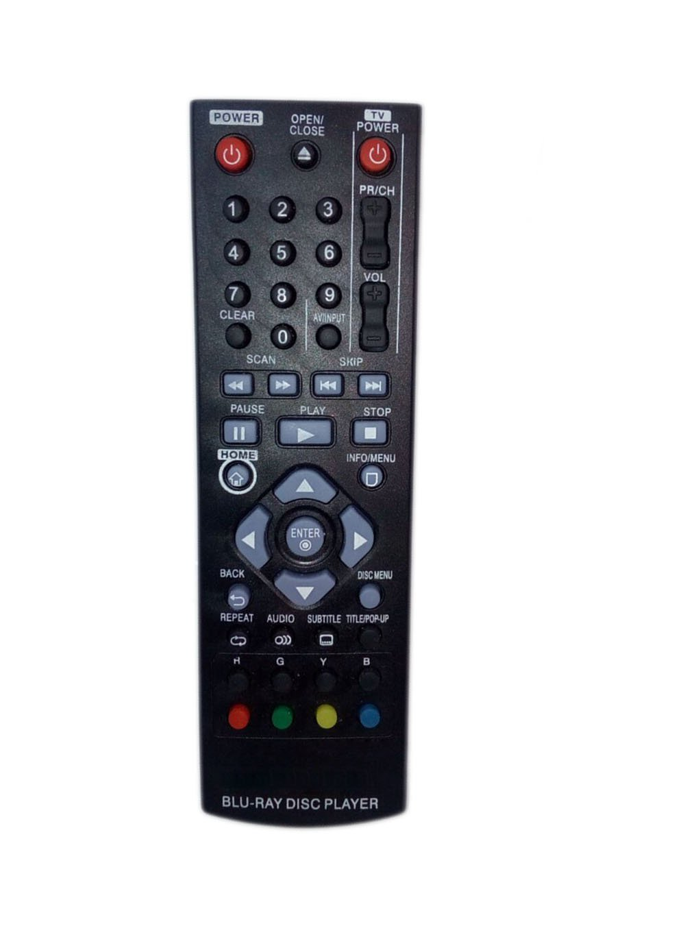 Amazon.com: Replaced Remote Control Compatible for LG BP120 AKB73215304  BP220N BP145 BP155 BP335W