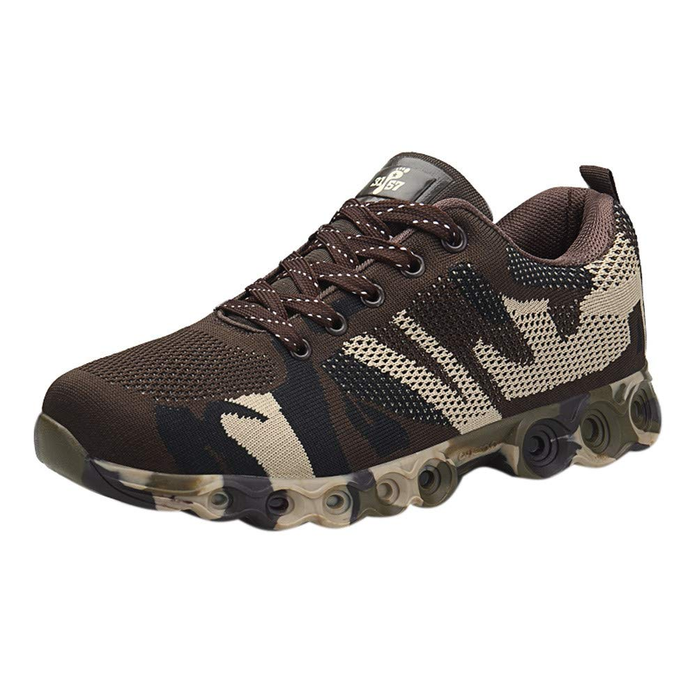 Chaussures de Sports Homme CIELLTE 2018 Mode Camouflage Respirantes Sneakers Impression Baskets Chaussure de Running Fermeture Lacets Fashion Cool