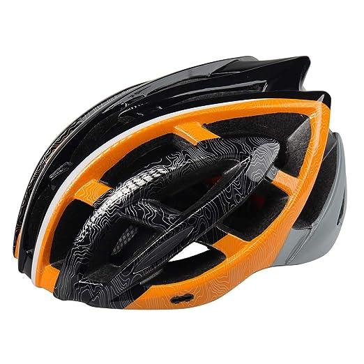 MMRLY Casco de Bicicleta de montaña para Adultos, Certificado por ...