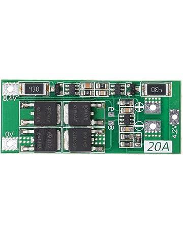 Kalttoy 2S 20A 7.4V 8.4V Li-ion Batería de litio, 18650 cargador