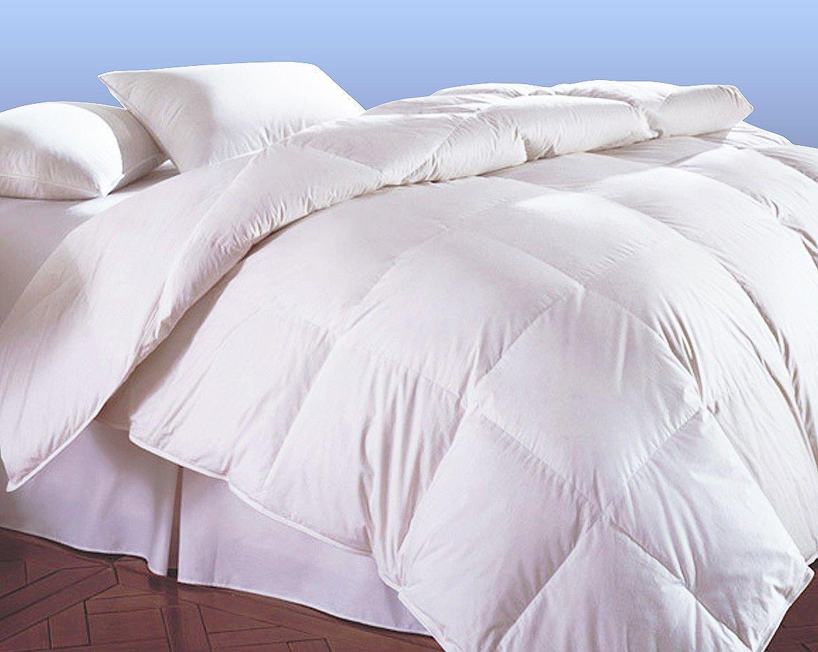 allergy winter feather luxurious cotton duvet white duvets full cvb op size goose blanket comforters solid comforter antiallergy insert king down
