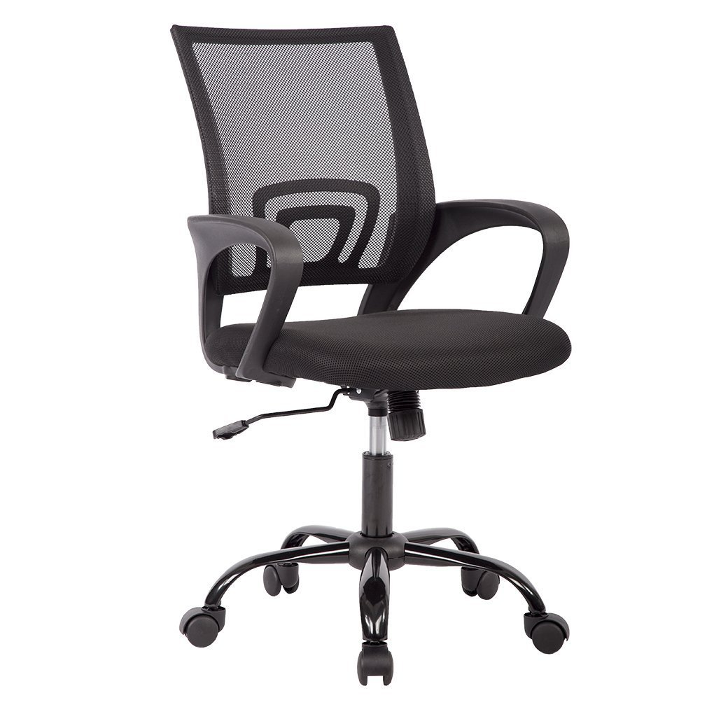Mid Back Mesh Ergonomic Computer Desk Office Chair,4 Pack