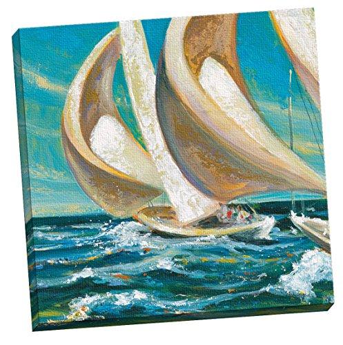 Portfolio Canvas Decor Yacht Club Four by Dupre Large Canvas Wall Art, 24 x (Dupre Canvas Painting)
