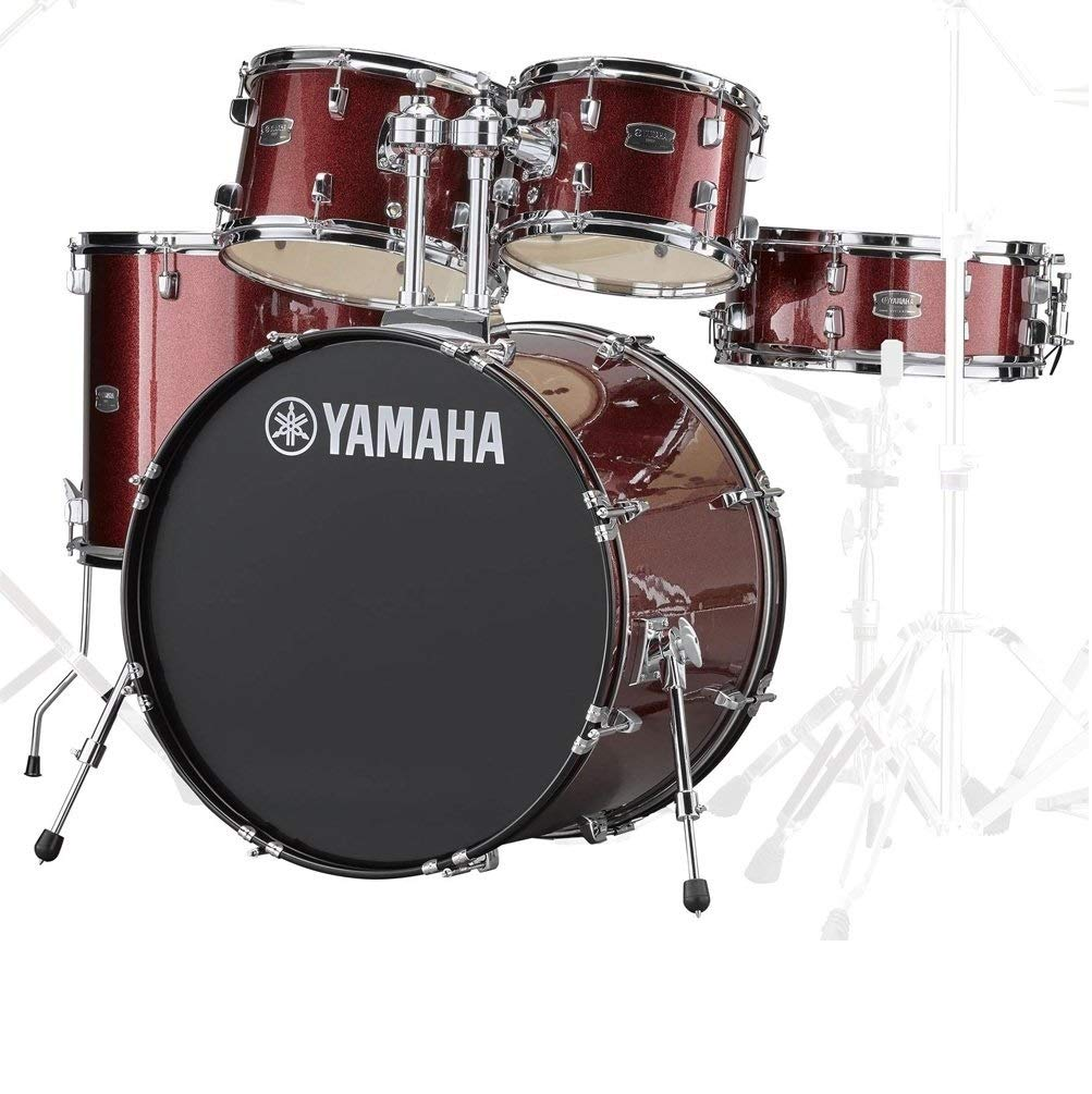 YAMAHA/RDP2F5 BGGバーガンディーグリッター ヤマハ ライディーン ドラム シェルセット/シンバル類とスタンド類とスツールとフットペダル別売   B071P2NLFM