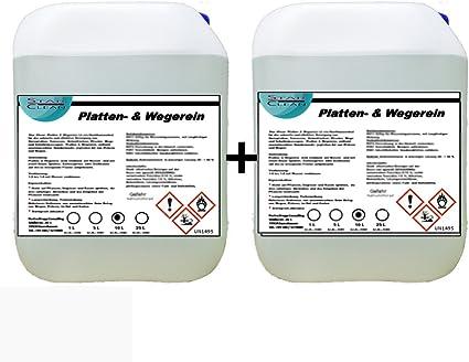 Placas & wegerein herbicida 2 x 10 L: Amazon.es: Coche y moto