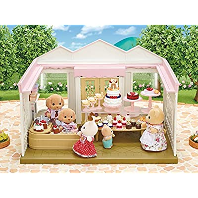Calico Critters Cake Decorating Set: Toys & Games