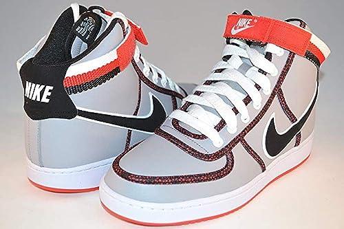 96e90e507f1e2 Nike Vandal High Men's Grey/Black/red 621187-003 Sz 9.5 (27.5 cm ...