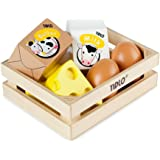 Tidlo Wooden Eggs and Dairy
