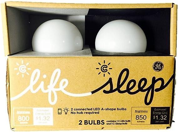 C by GE Starter kit One Life Bulb and one Sleep Bulb