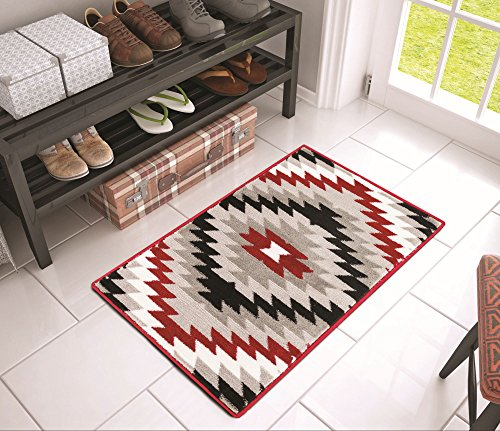 dusky-mesa-grey-red-southwestern-modern-tribal-medallion-2-x-3-20-x-31-mat-area-rug-easy-clean-stain
