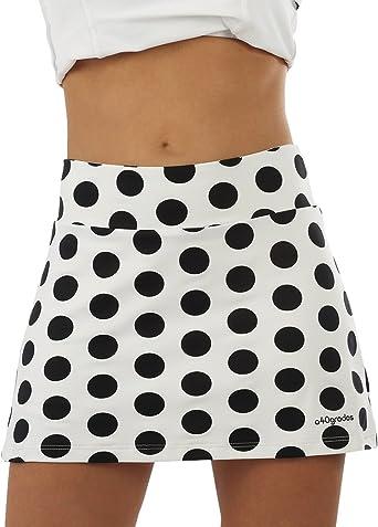 a40grados Sport & Style Fusion Lunar Falda de Tenis, Mujer: Amazon ...