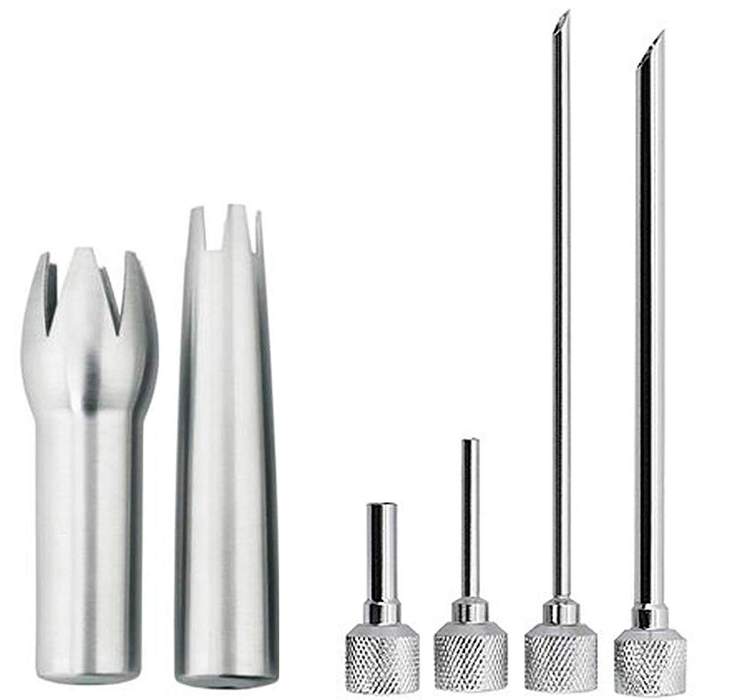 iSi Stainless Steel Decorating and Injector Tips Set