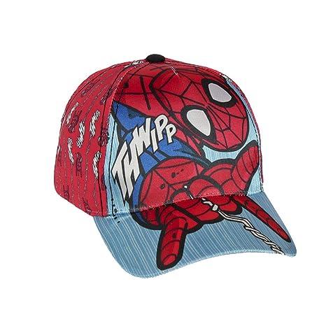 Takestop® cappellino cappello spiderman uomo ragno marverl con