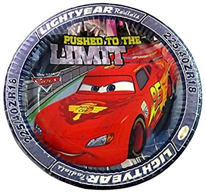 Untumble Disney Cars Birthday Party Supplies Paper Plates (Set Of 20)  sc 1 st  Amazon.in & Untumble Disney Cars Birthday Party Supplies Paper Plates (Set Of 20 ...