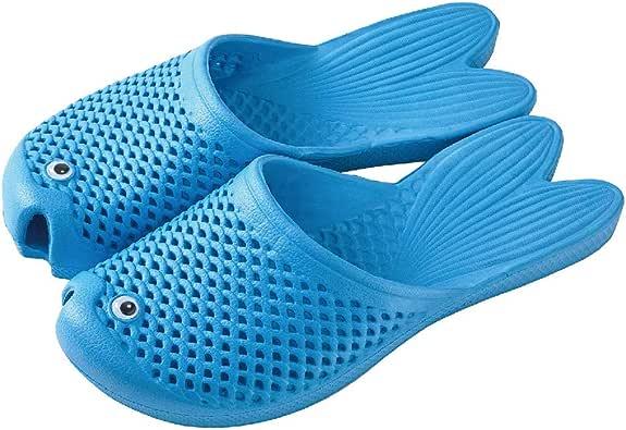 Time Concept Men's/Women's Goldfish Soft EVA Slippers - Unisex Adult Footwear, Indoor/Outdoor Summer Sandals