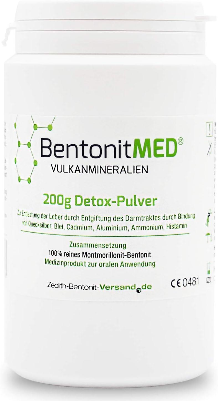 Bentonita MED 200g Polvos desintoxicantes