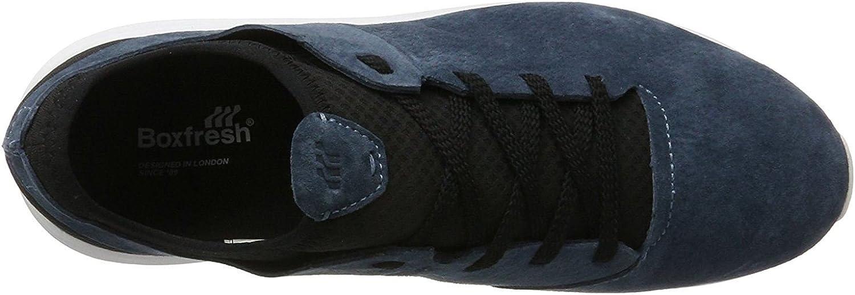 Fresh Box Boxfresh Ceza Navy Black White Mens Suede Trainers Shoes