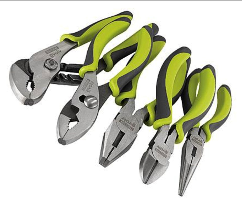 Craftsman Evolv 5 Piece Pliers Set, 9-10047