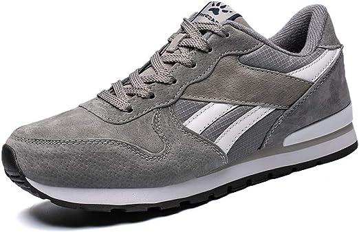 Mxjeeio 💖 Zapatillas Running para Hombre Aire Libre y Deporte Transpirables Gran tamaño Casual Zapatos Gimnasio Correr Sneakers Calzado Casual a Juego de Color Transpirable Zapatillas Deportivas: Amazon.es: Ropa y accesorios