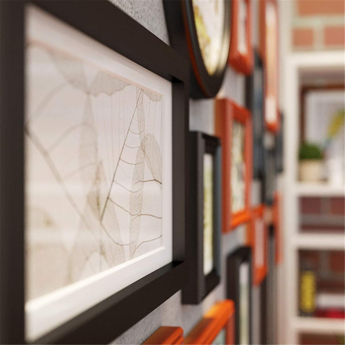 Muro fotográfico Creativo/Muro Creativo para portarretratos/Portaretrato de Madera/Muro / Muro fotográfico Creativo/Área de Pared ocupada 160 * 84cm, ...