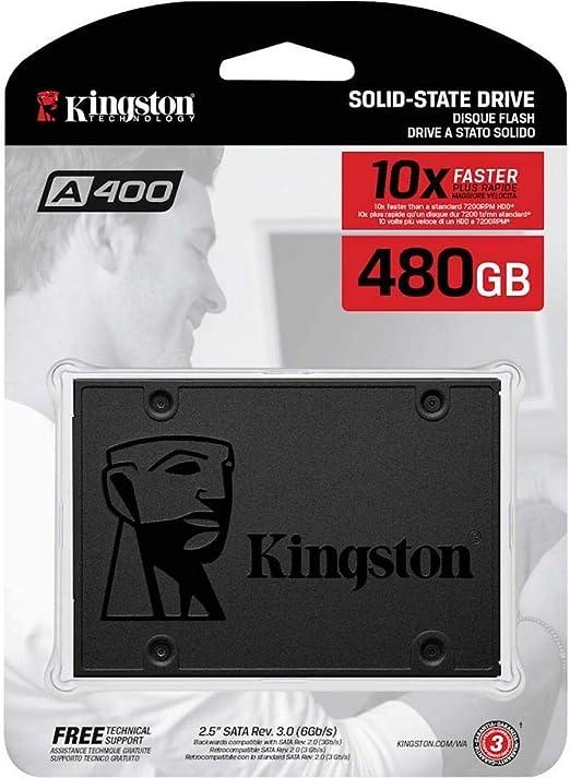 Kingston Technology A400 SSD 480 GB Serial ATA III: Amazon.es: Informática