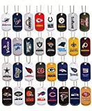 NFL Dog Tags with Chains - Full Set of 32 Teams