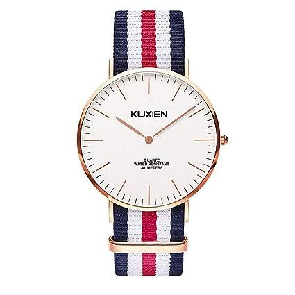 KUXIEN Relojes Reloj Hombre, Mujer, para Mujer, Relojes Mujer, Unisex Reloj de