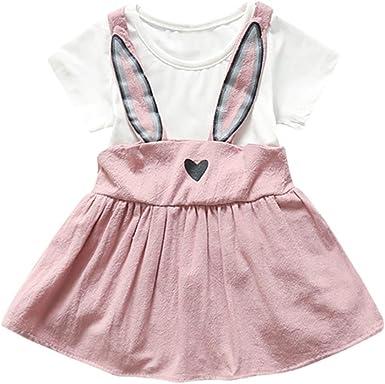 2PCS//Set Baby Newborn Girl Kids Princess Dress Pageant Party Dress+Headband YW
