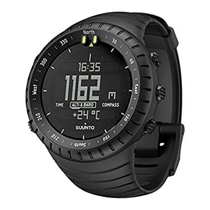 4f4747d384 Amazon.com: SUUNTO Core All Black Military Men's Outdoor Sports ...