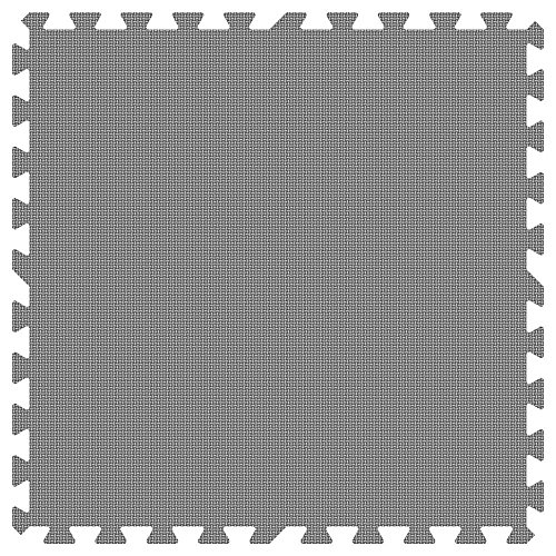 GREY 24 in. x 24 in. Comfortable Mat (100 sq.ft. / Case) by Groovy Mats