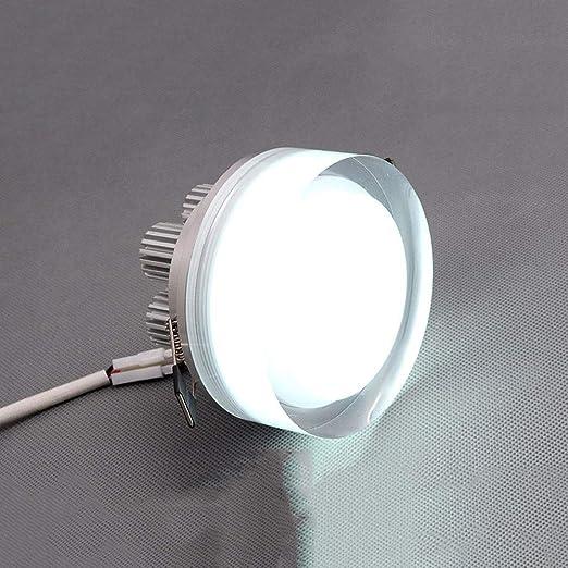 HviLit Moderno Ultra Delgado Redondo LED Downlight Integrado ...