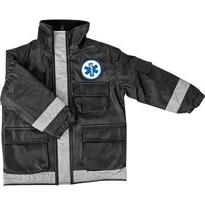 Black Paramedic Jacket Child (Size: Large 6-8): Clothing
