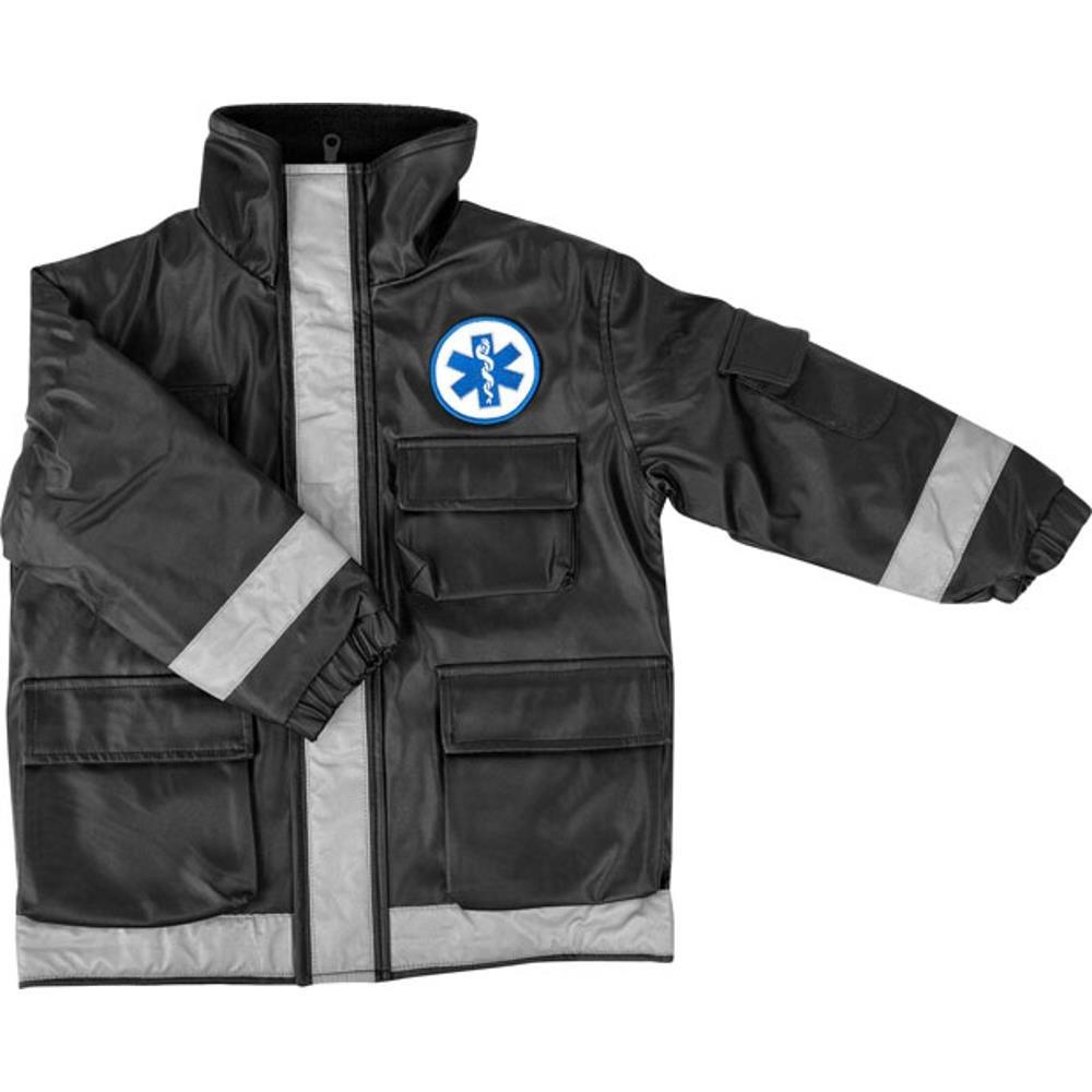 Child Black Paramedic Jacket (Size: Large 8-10)