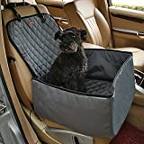Petacc Front Car Seat Covers for Pets Nonslip Truck Seat Covers Washable Car Seat Protector Design for All Cars, Trucks & SUVs, Black Review