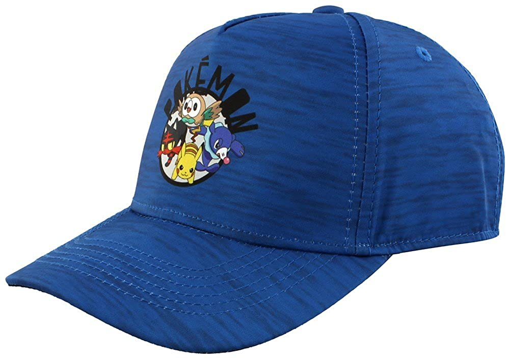 e11f09ccd03 Official Pokémon Sun and Moon Curved Bill Cap at Amazon Men s Clothing  store