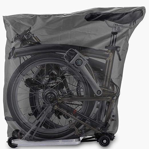 Yamyannie Ciclo de la Bicicleta Mochila Impermeable Bolsa Plegable ...