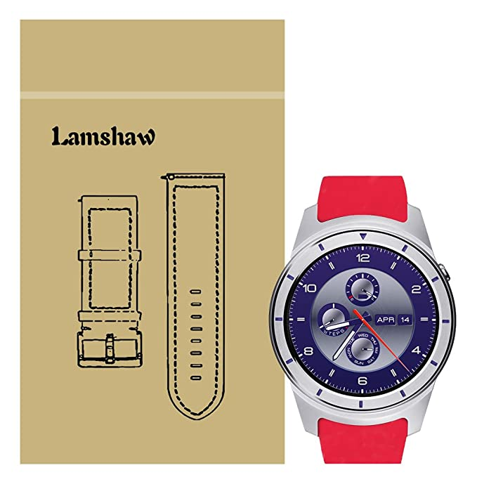 ZTE cuarzo reloj inteligente banda, lamshaw - silicona ...