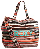 Roxy Juniors Sewn Up Tote, Black Combo, One Size, Bags Central