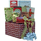 Many, Many Thanks Gourmet Food Care Package Gift Box (Chocolate Option)