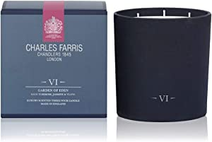 Charles Farris Scented Candle Garden of Eden Tuberose Jasmine Ylang Ylang