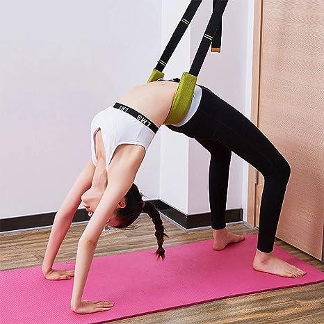 Amyove Banda elástica de Yoga Flexibilidad Camilla de ...