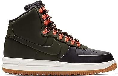 Amazon.com | Nike Mens Lunar Force 1 Duckboot Boot (9 M US, Black