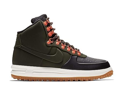 timeless design a2abc 5d2af Nike Lunar Force 1 Duckboot '18, Zapatillas de Deporte para Hombre, (Black