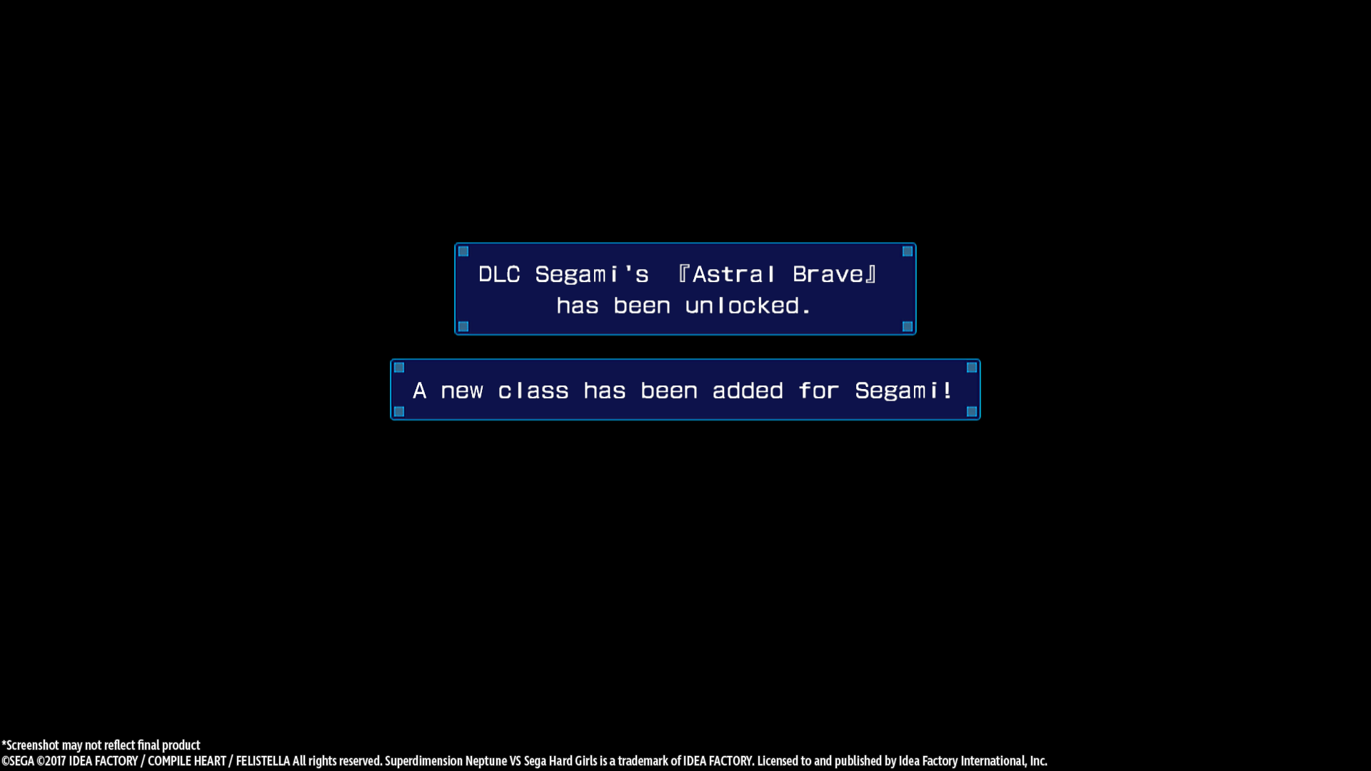 Superdimension Neptune VS Sega Hard Girls - Segami's Astral Brave [Online Game Code]
