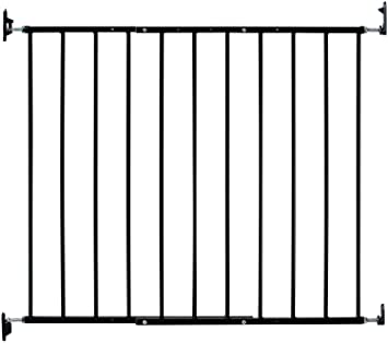 Amazon Com Kidco Safeway Gate Top Of Stairs Gate Black Baby