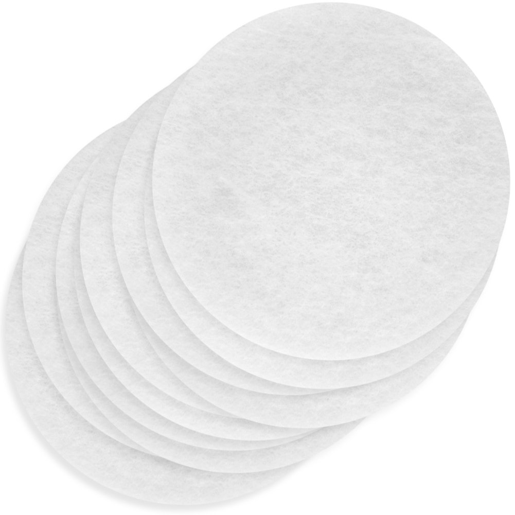 Woodtek 160727, 40-pack, Safety Equipment, Dust Masks, Power Air Pre Filters