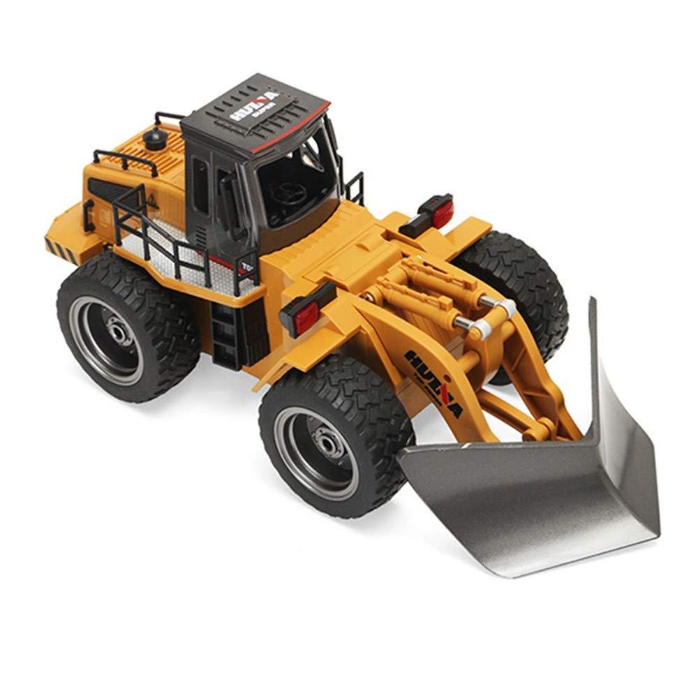 RC合金工学トラック雪清澄機1/18 6チャンネル充電車雪だるま工学トラック車両冬の屋外雪道子供のおもちゃギフト B07KW8741M