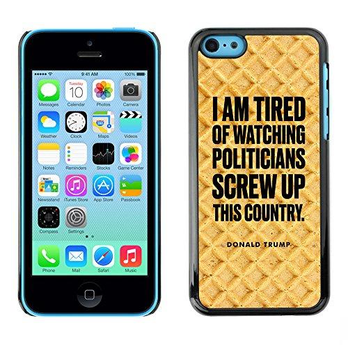 Print Motif Coque de protection Case Cover // Q04080527 Président Donald Trump cake // Apple iPhone 5C