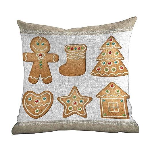 Matt Flowe - Funda de almohada para decoración del hogar ...